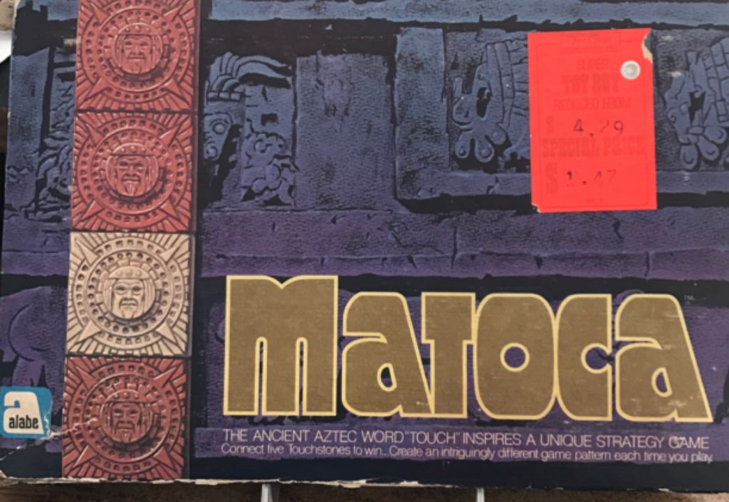 Matoca Board Game - Alabe (Ancient*Strategy) front image (front cover)
