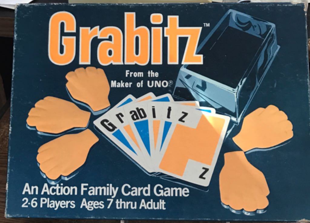 Grabitz Board Game - International Games (Action*Card Game) front image (front cover)