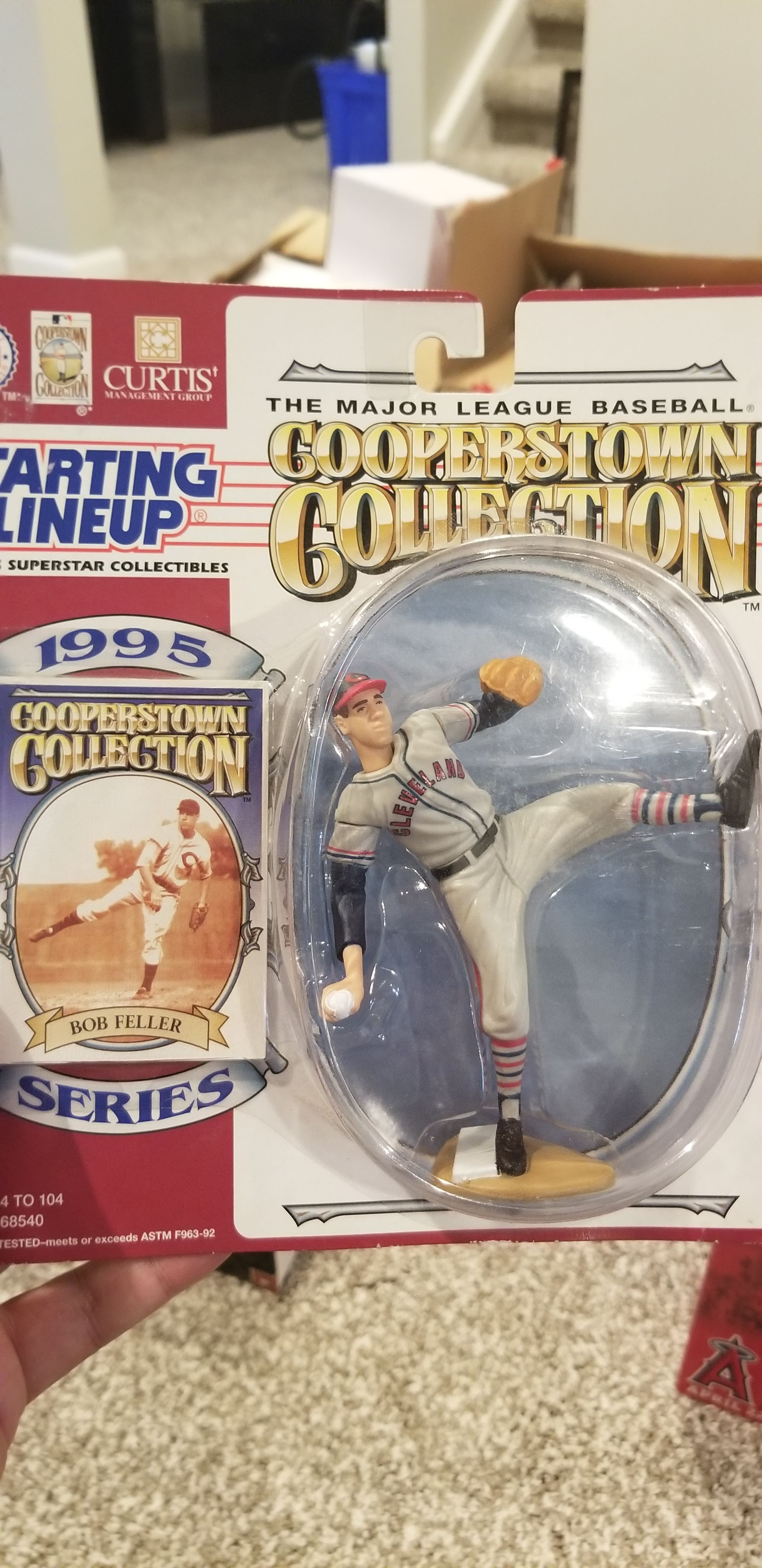 Bob Feller Starting Lineup Bobblehead (1995) front image (front cover)