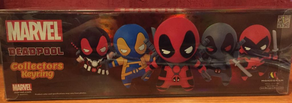 Deadpool SDCC Exclusive Bobblehead (2016) back image (back cover, second image)