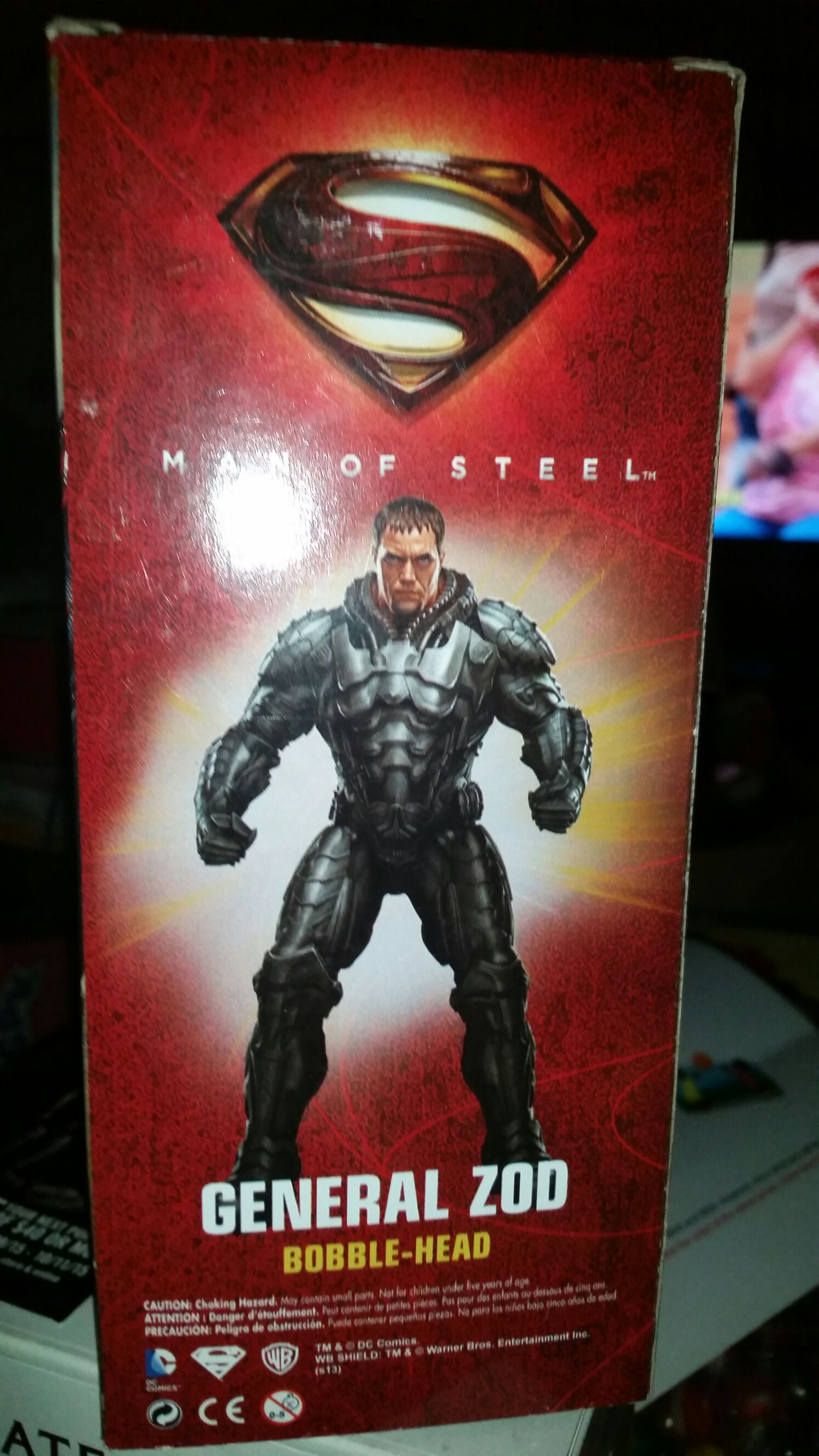General Zod Bobblehead - Super Heros back image (back cover, second image)