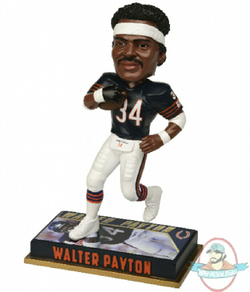 Walter Payton Bobblehead front image (front cover)
