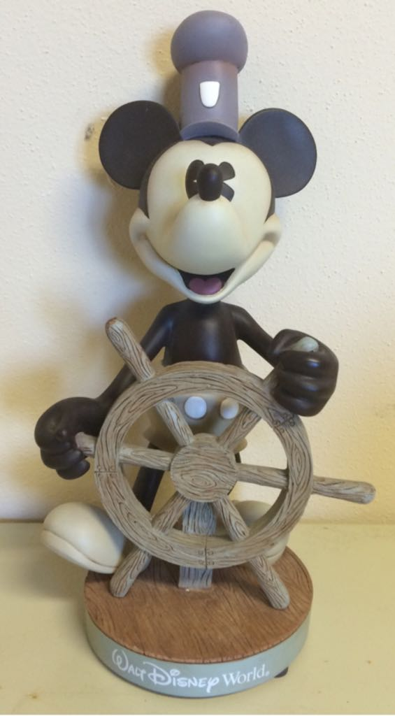 Mickey - Steamboat Willie Bobblehead - Disney front image (front cover)