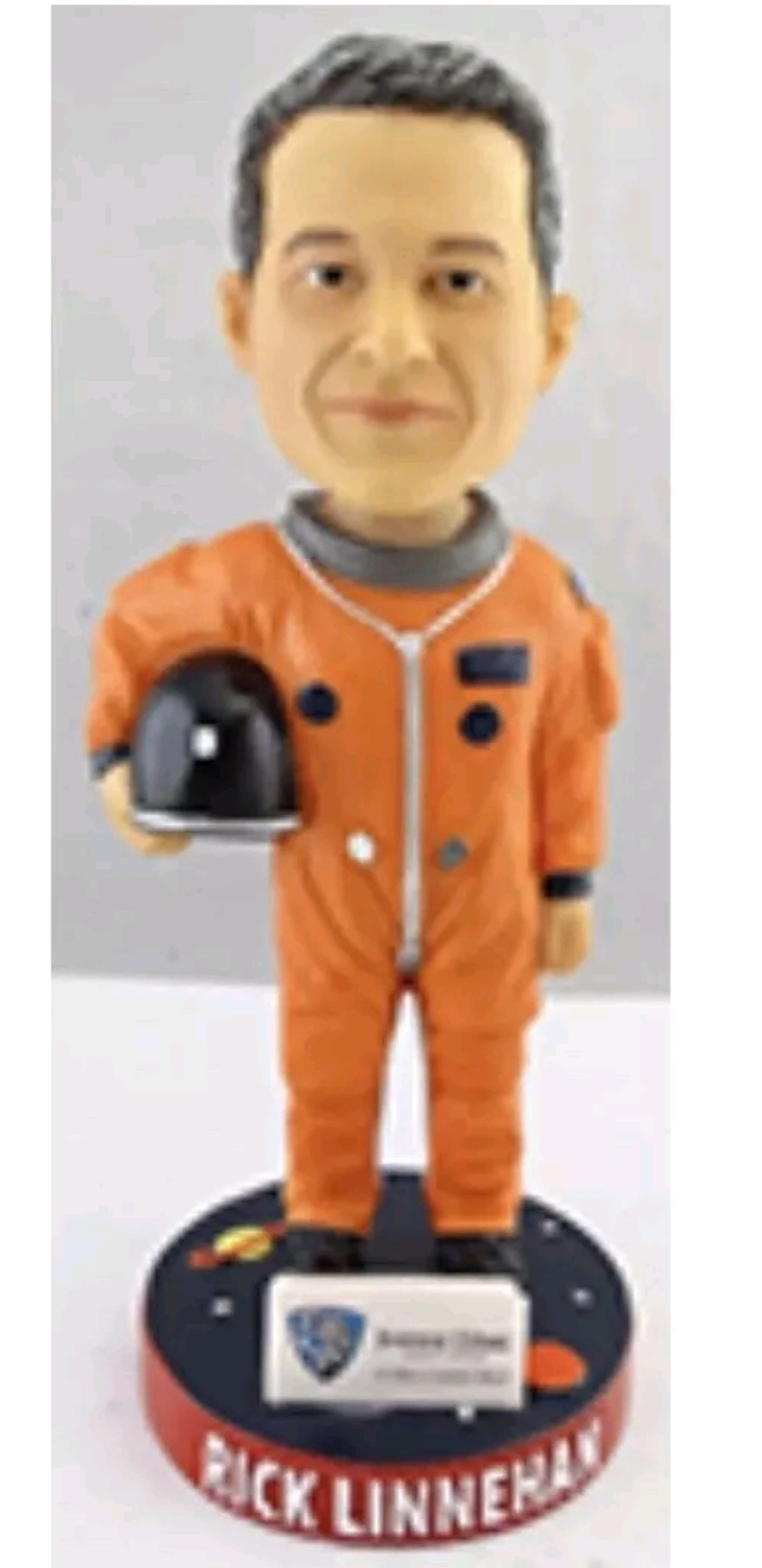 Rick Linnehan- Auto Bobblehead front image (front cover)