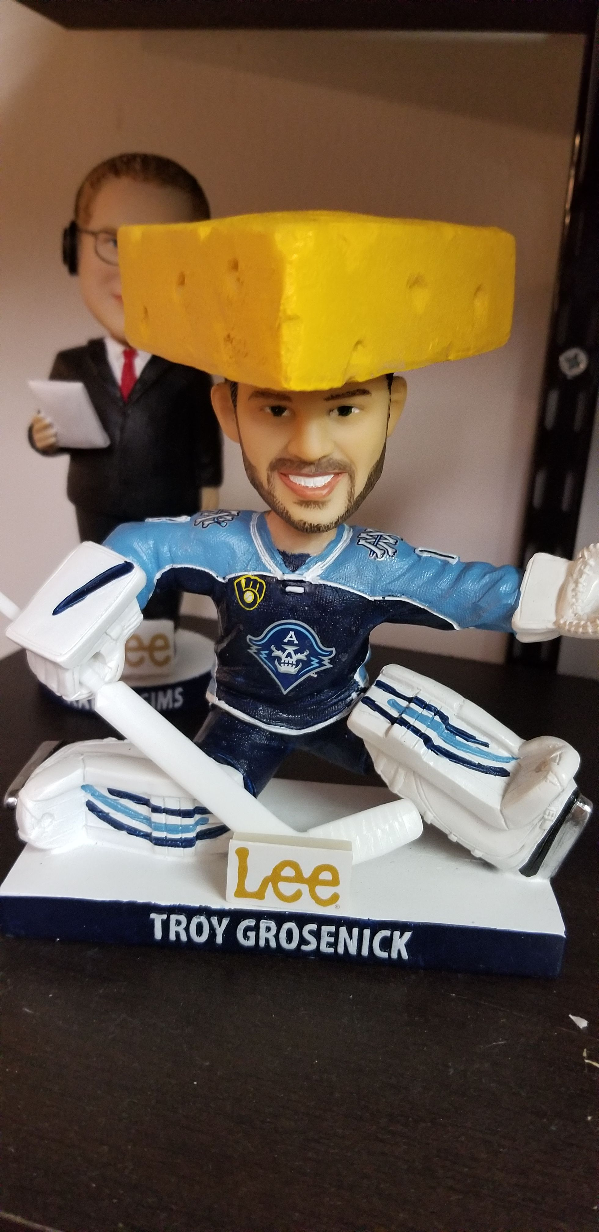 Troy Grosenick Bobblehead - Admirals front image (front cover)