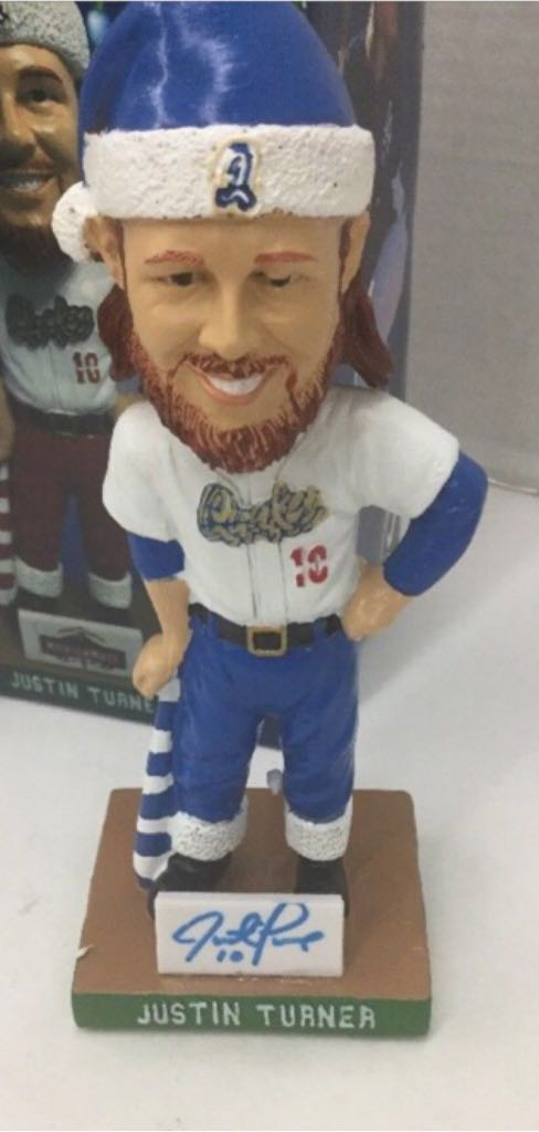 Just Turner Quakes Custom Bobblehead front image (front cover)