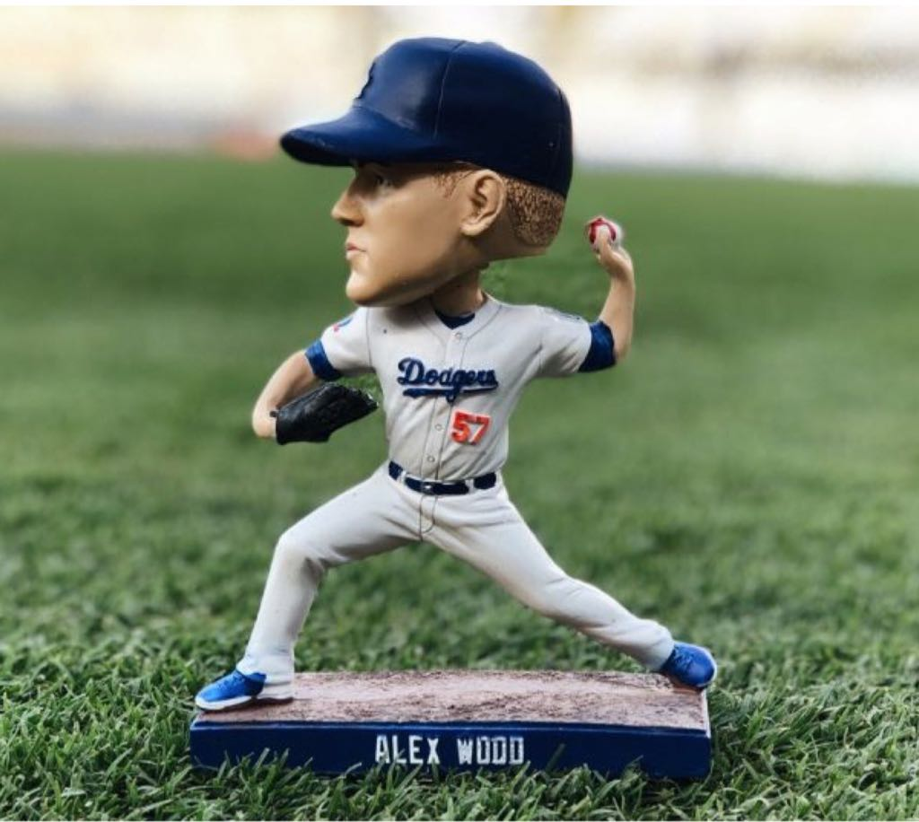 Alex Wood Bobblehead front image (front cover)