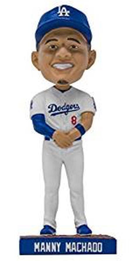 Manny Machado Bobblehead front image (front cover)