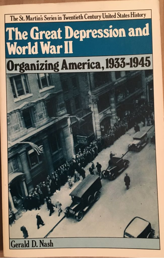 an interview on the lives of different individuals during the great depression and world war ii The great depression devastated many economies but one country arguably suffered more than any other: canada by the time its economy reached bottom in 1932, canada had suffered a staggering.