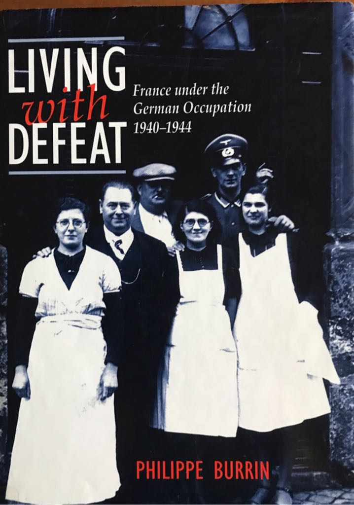 Living with Defeat Book front image (front cover)