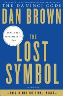The Lost Symbol Book - Random House Large Print front image (front cover)