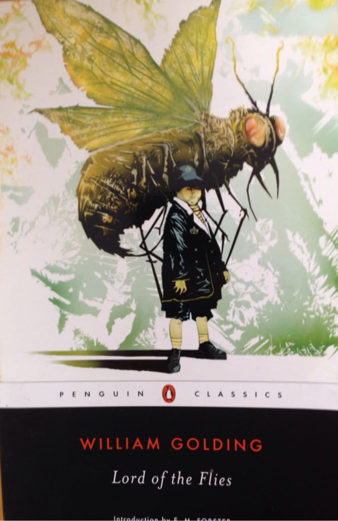 Lord of the Flies Book - Penguing Classics front image (front cover)