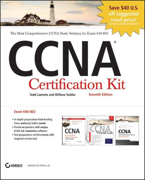 sybex cccna book Abebookscom: ccna cisco certified network associate study guide, 7th edition (9780470901076) by todd lammle and a great selection of similar new, used and collectible books available now at great prices.