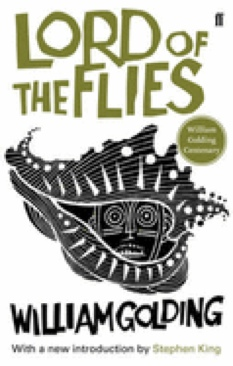 Lord of the Flies Book - Faber and Faber (England) front image (front cover)