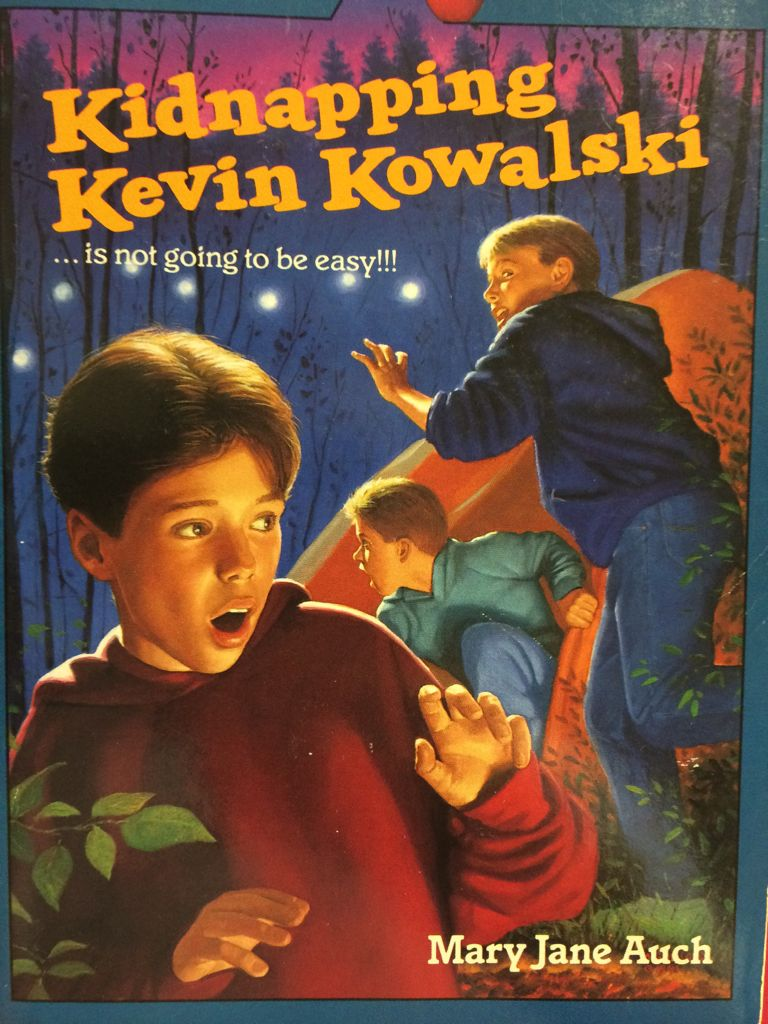 Kidnapping Kevin Kowalski Book - Apple - from Sort It Apps