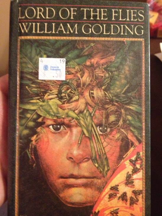 Lord of the Flies Book - Turtleback front image (front cover)