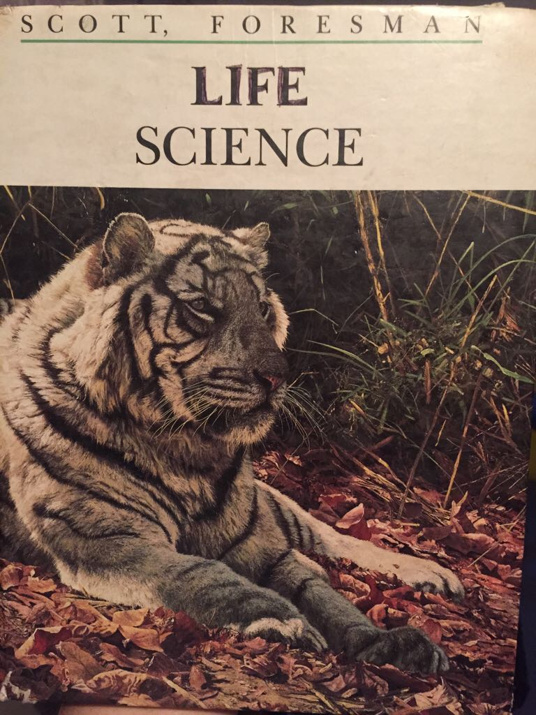 Life Science Book front image (front cover)