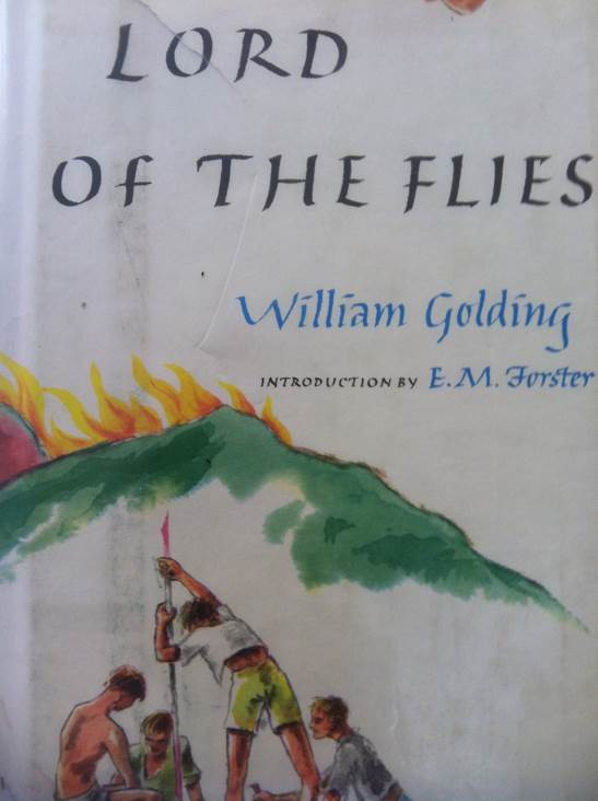 Lord of the Flies Book front image (front cover)