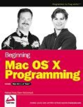 Beginning Mac Os X Programming Book front image (front cover)