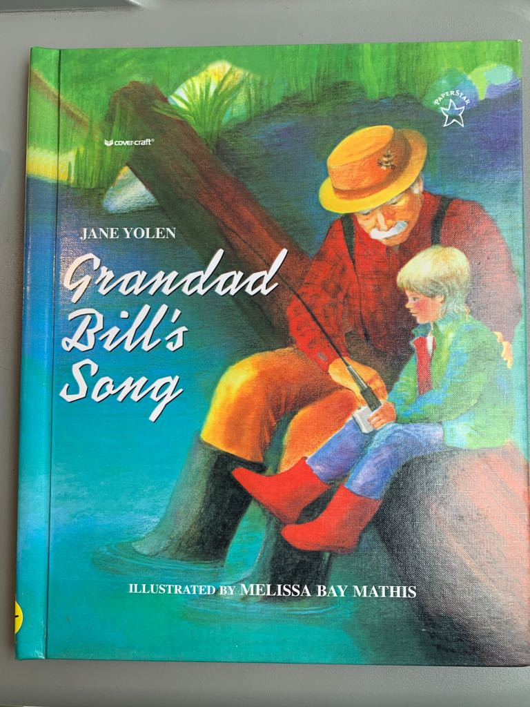 Grandad Bill's Song Book front image (front cover)