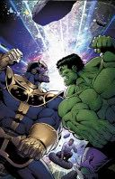 Thanos vs. Hulk Book - Marvel front image (front cover)