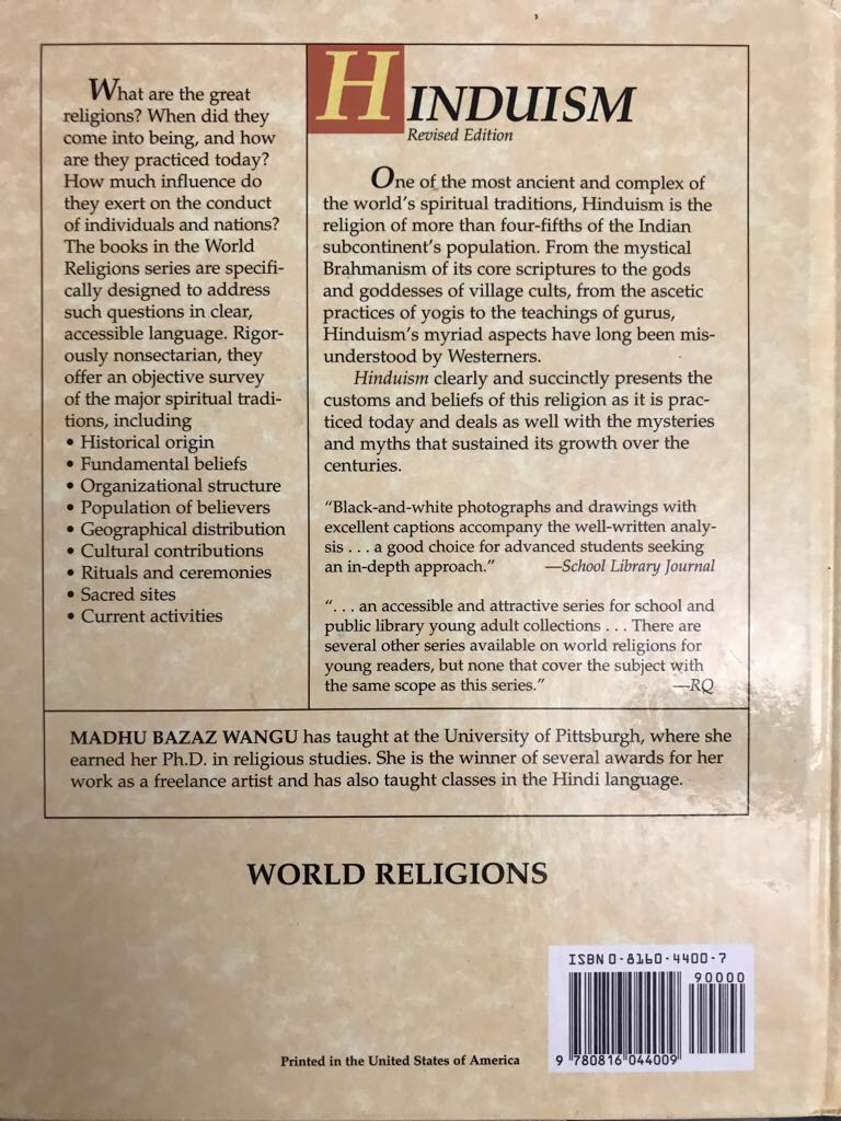 world religions hinduism 1 3 0 © teachers' curriculum institute learning about world religions: hinduism 1 section 2 1 hinduism section 3 1 brahmins—priests and religious scholars.