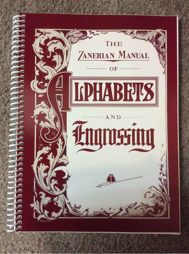 the zanerian manual of alphabets and engrossing book zaner bloser rh sortitapps com ASL Manual Alphabet Letters Manual Alphabet Printable