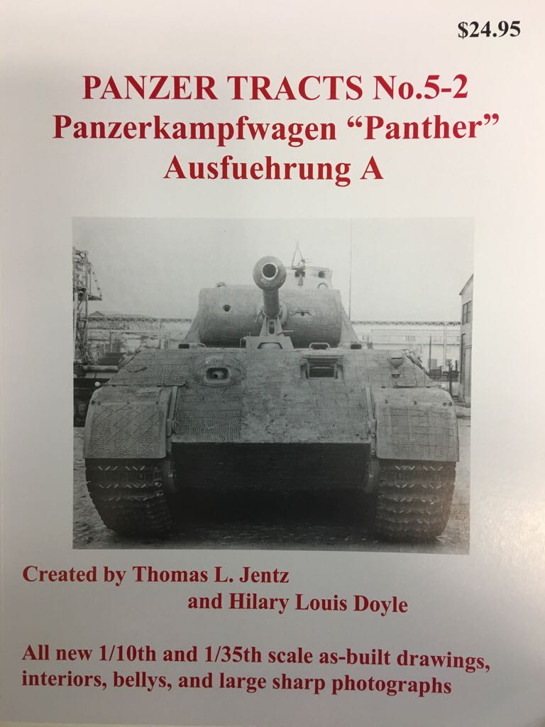 Panzer Tracts No. 5-2 Book - Panzer Tracts front image (front cover)