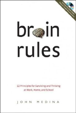 Brain Rules Book - Pear Press (USA) front image (front cover)