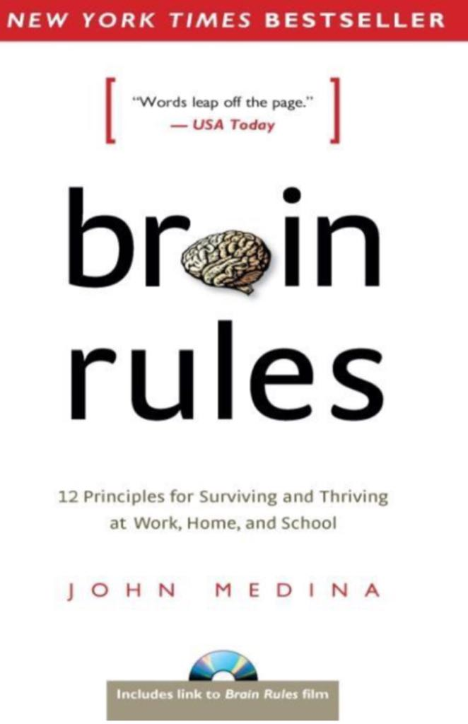 Brain Rules Book - Pear Press front image (front cover)