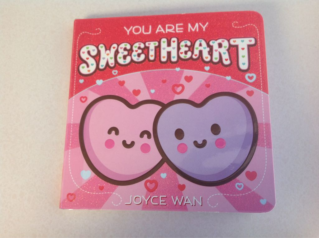 You Are My Sweetheart Book - Cartwheel Books front image (front cover)