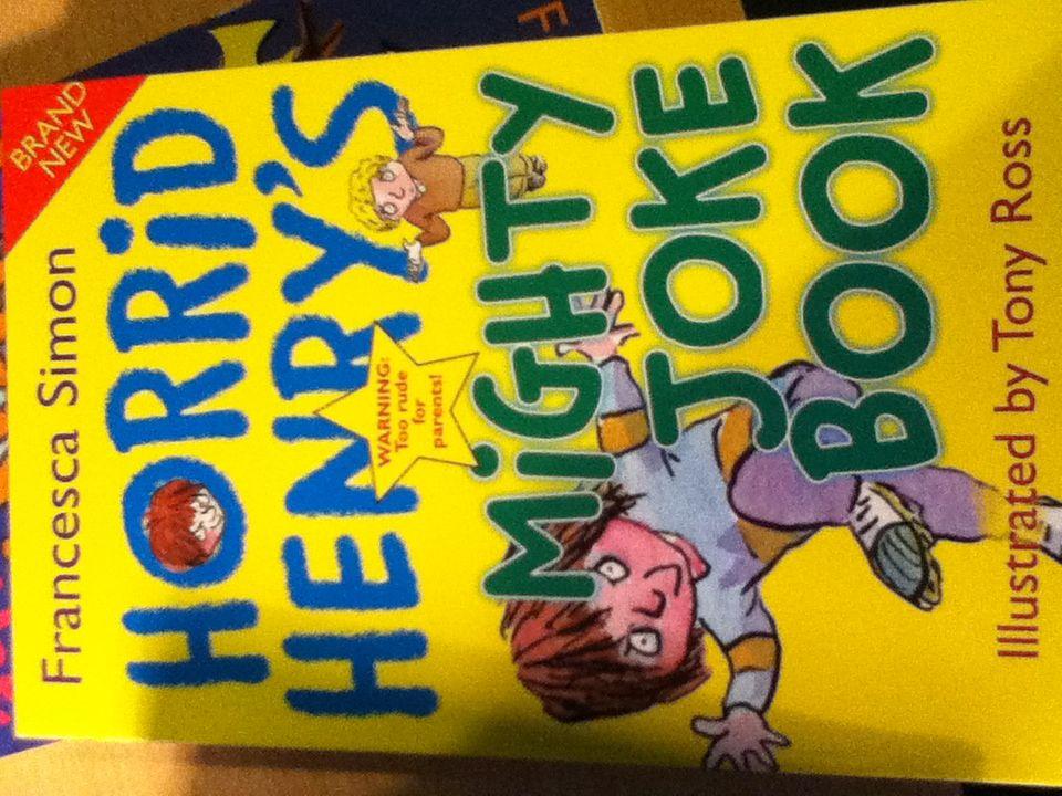 Horrid Henry's Mighty Joke Book Book - from Sort It Apps