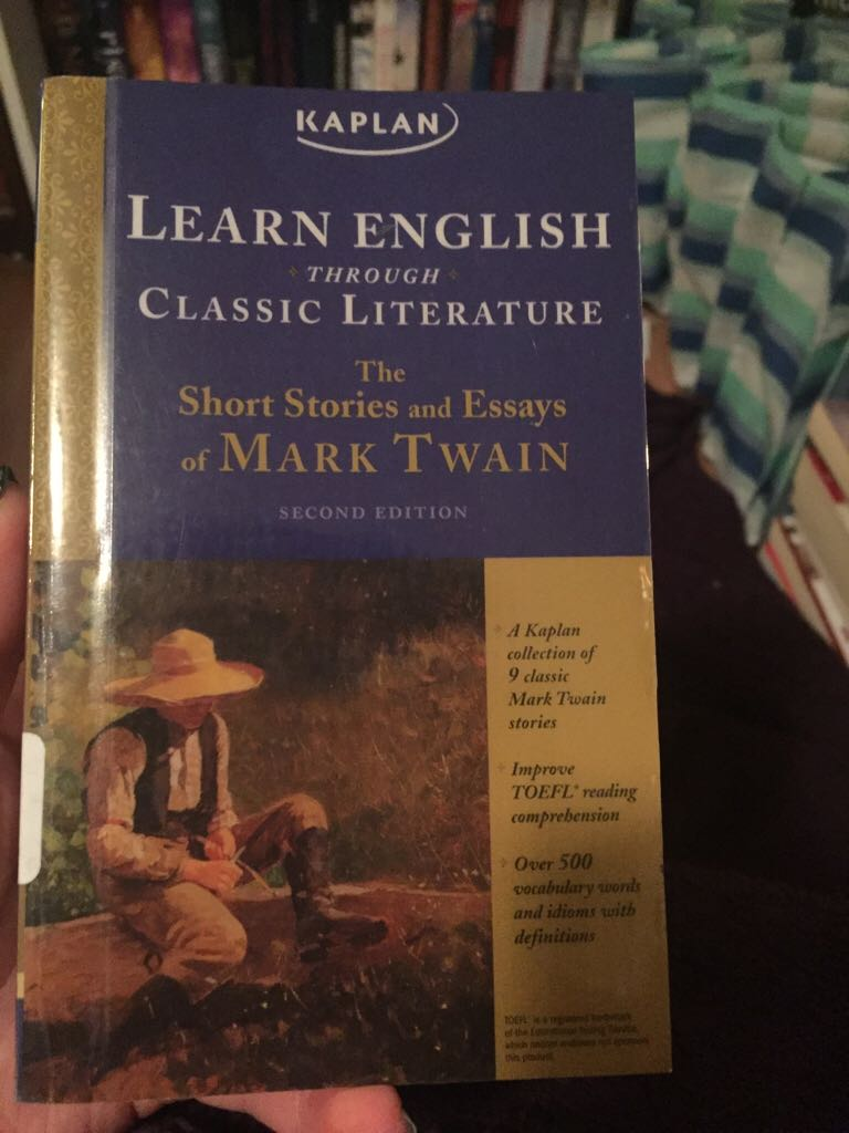 learn english through classic literature the short stories and essays of mark twain Add tags for learn english through classic literature : the short stories and essays of mark twain be the first.