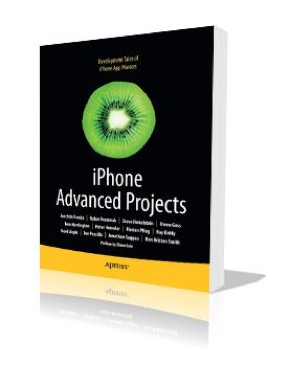 iPhone Advanced Projects Book - Apress (USA) front image (front cover)