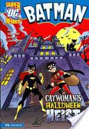 Catwoman's Halloween Heist Book - Capstone front image (front cover)