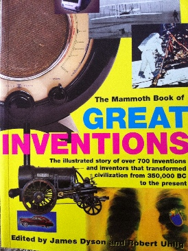 Great Inventions, Mammoth Book Of Book front image (front cover)