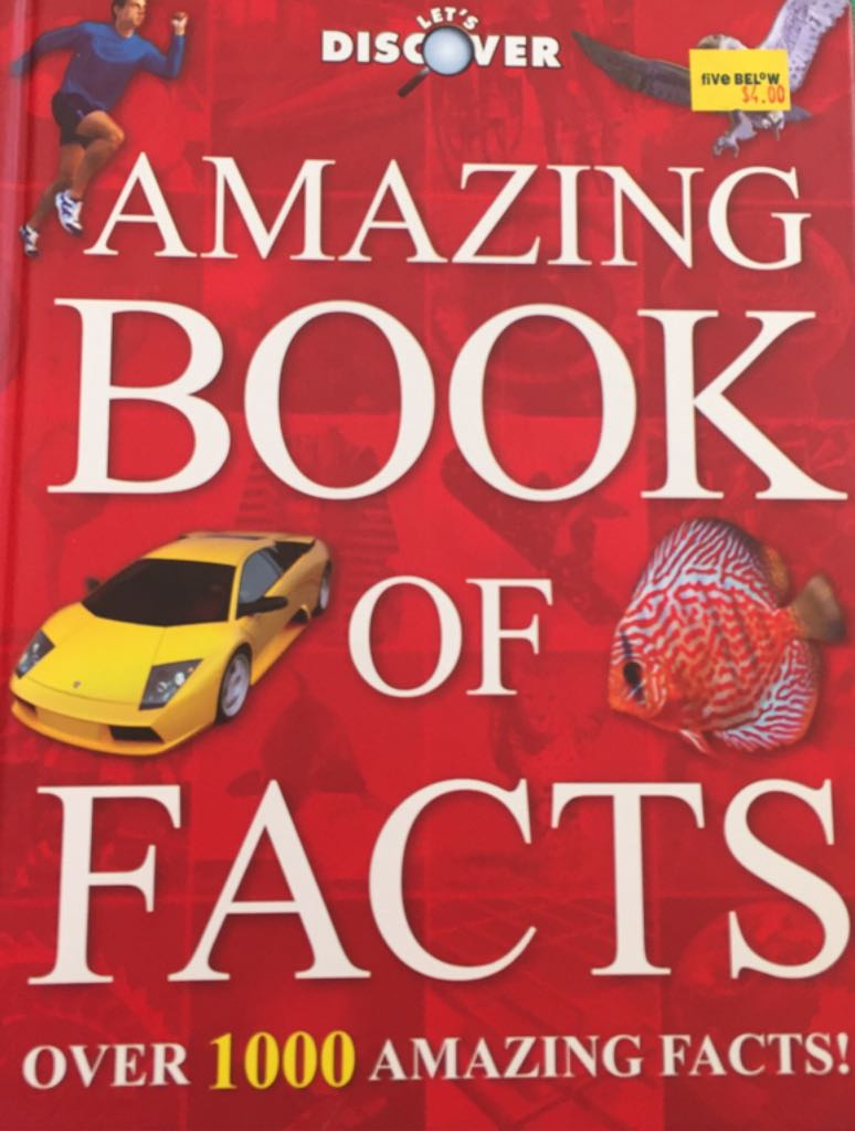 Amazing Book Of Facts Book - Igloo Books Limited - from Sort It Apps