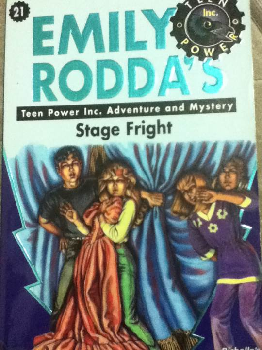 Teen Power Inc  #21 Stage Fright Book - from Sort It Apps