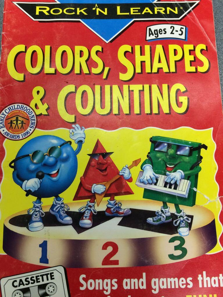 Shapes & Colors Printable Worksheet | School is Cool ...
