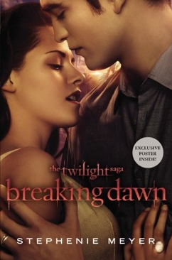 Breaking Dawn Book - Orbit Books front image (front cover)