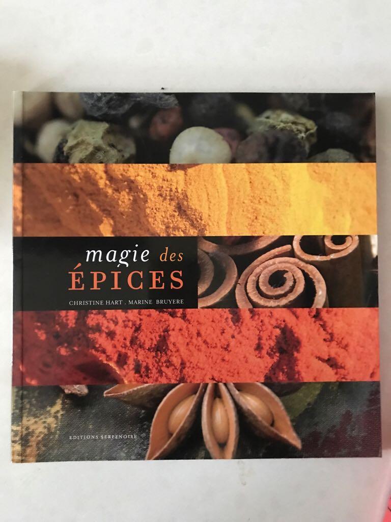 Magie Des Épices Book front image (front cover)