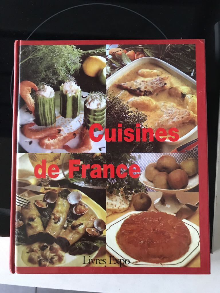 Cuisine De France Book front image (front cover)