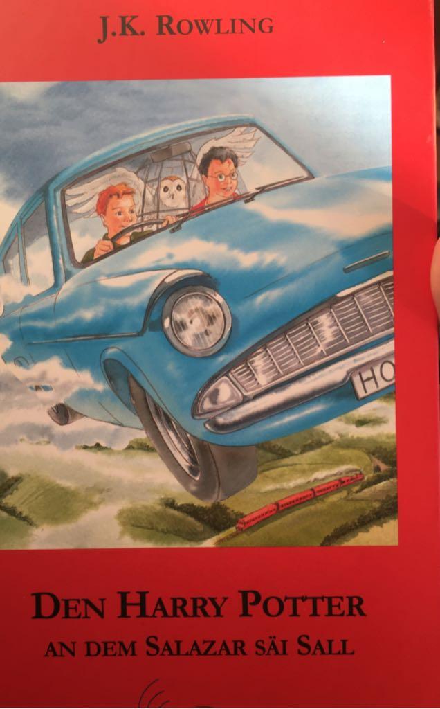 bcf72d44060 Den Harry Potter an dem Salazar säi Sall Book front image (front cover)