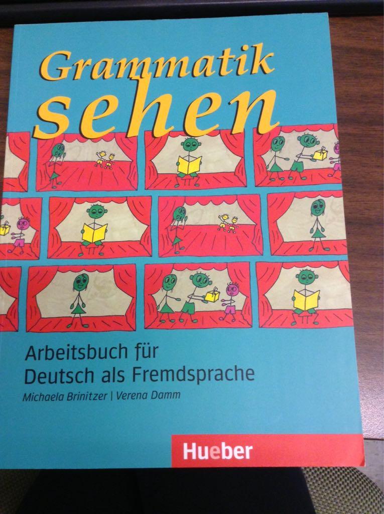 الكتاب الاكثر فائدة  للمبتدئين  مع الحلول Grammatik sehen