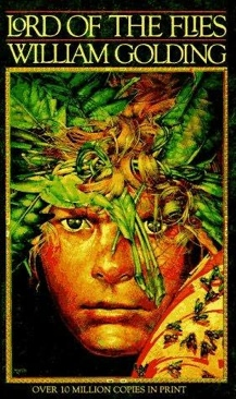 Lord of the Flies Book - Capricorn Books front image (front cover)