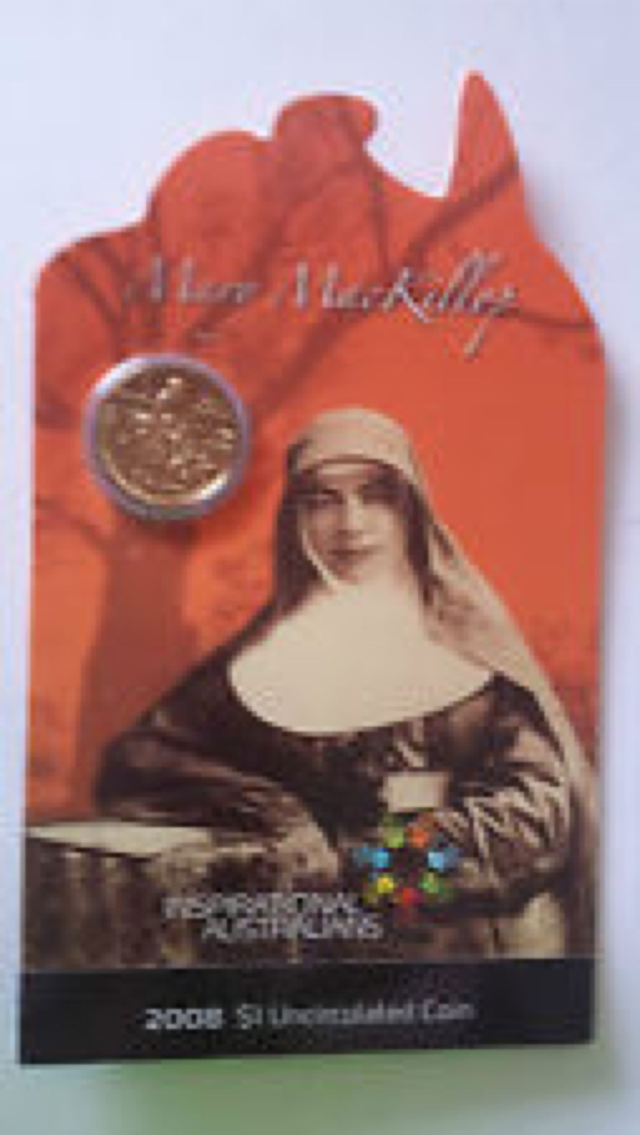 2008 $1 Uncirculated Inspirational Australians - Mary MacKillop Coin - $1 (2008) front image (front cover)