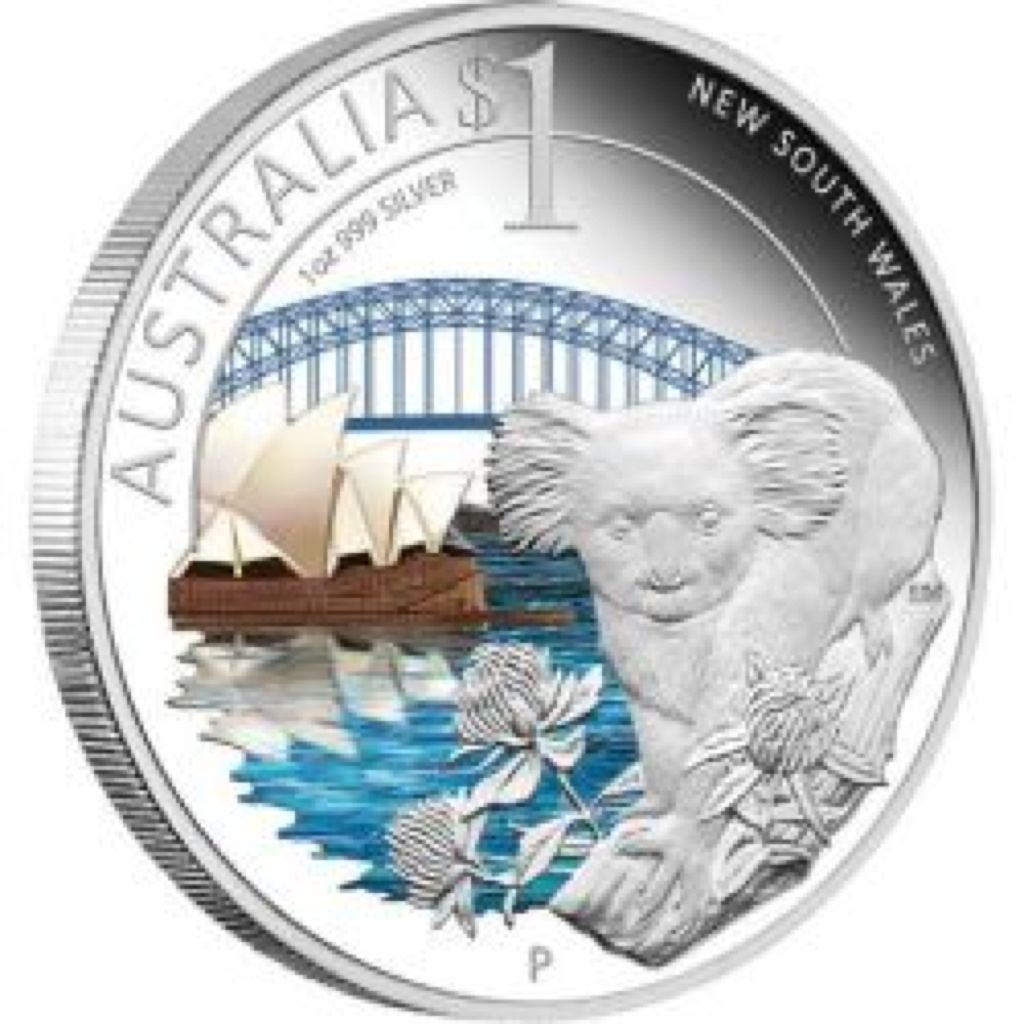 2010 ANDA Sydney Show Coin - $1 (2010) front image (front cover)