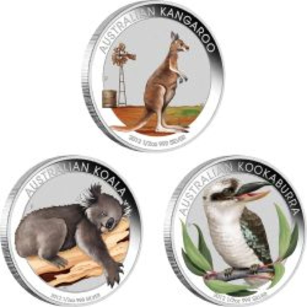 2012 Australian Outback Collection Coin - $0.50 (2012) front image (front cover)