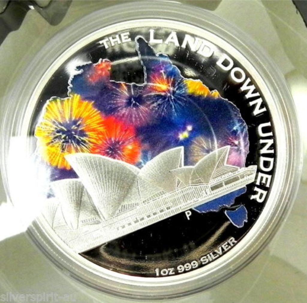 2013 Land Down Under Landmark Coin - $1 (2013) front image (front cover)