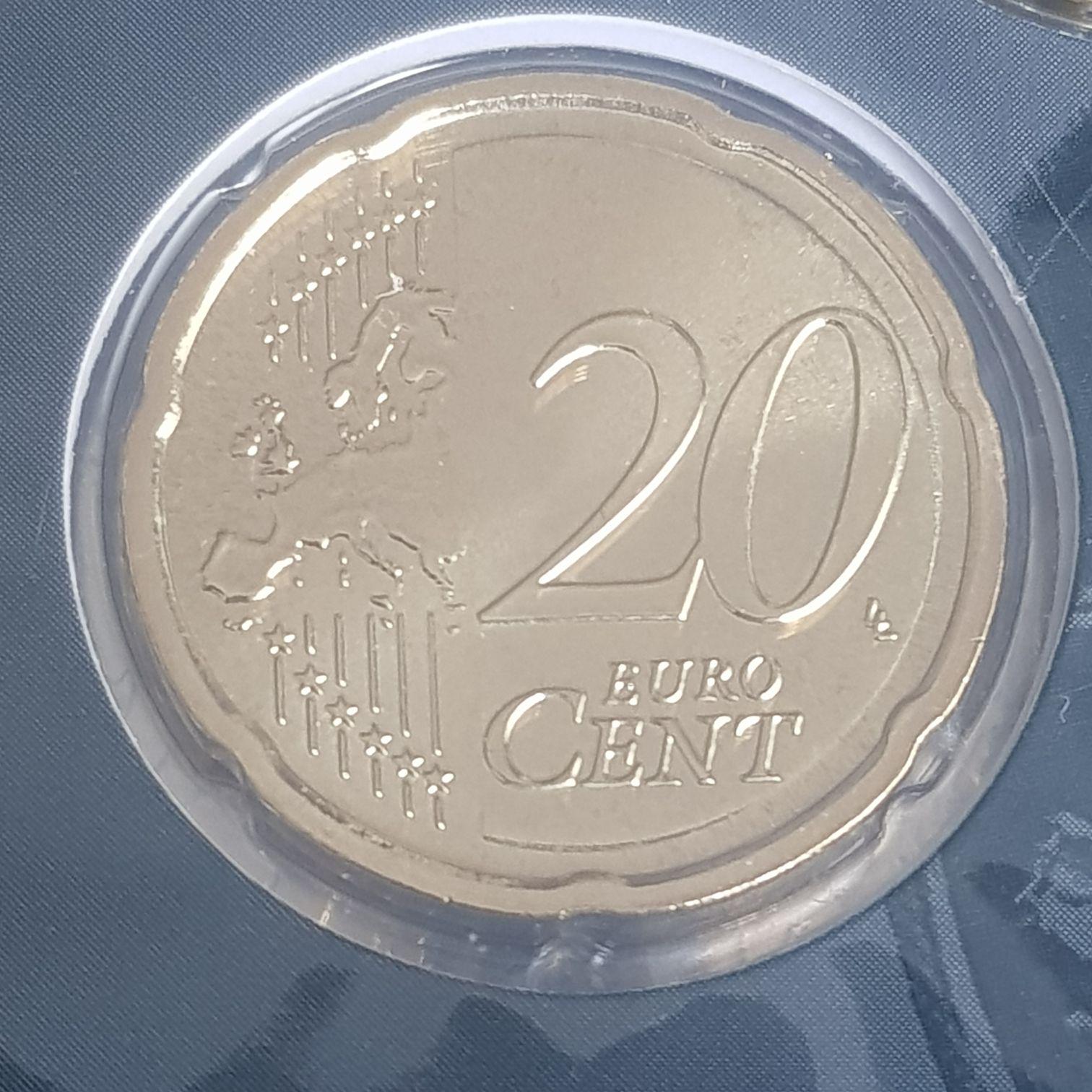 .2 Centavos De Euro Coin - $.20 (2017) front image (front cover)